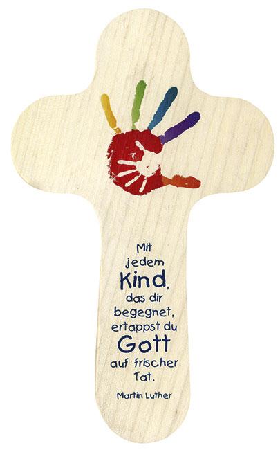 Kinder Kreuz Mit Zitat Von Martin Luther